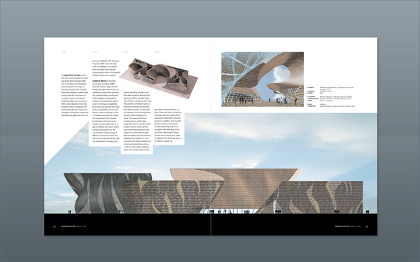 modern杂志排版设计欣赏
