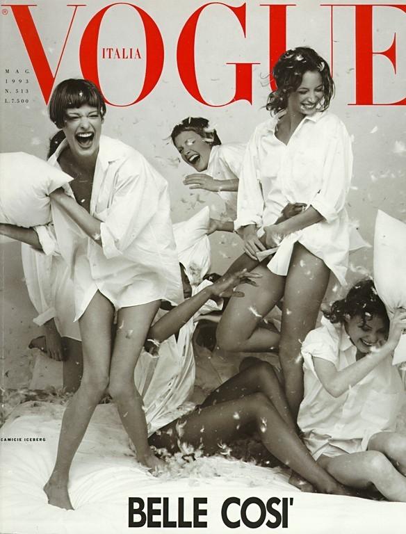 时尚杂志封面欣赏