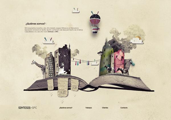 Sintesis SpcAgency 网页设计