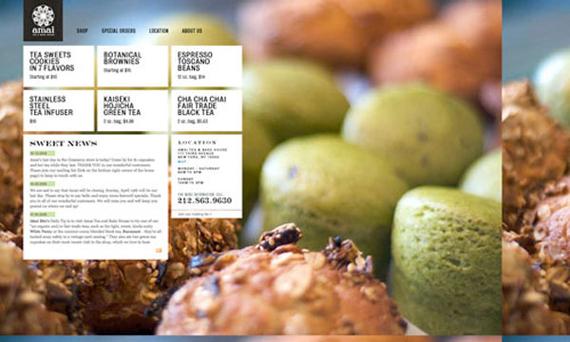 30个咖啡类网页设计欣赏