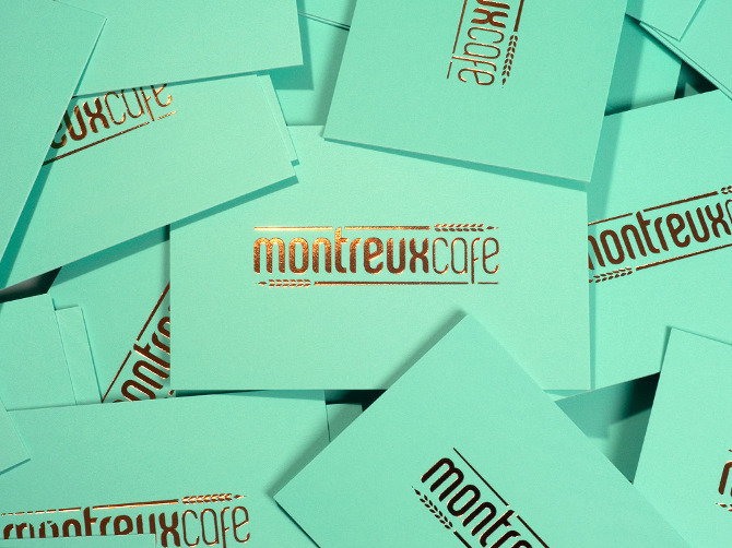Montreux Café蒙特勒咖啡品牌形象