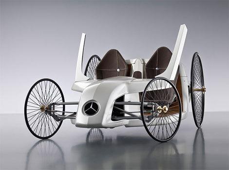 奔驰F-CELL Roadster概念车
