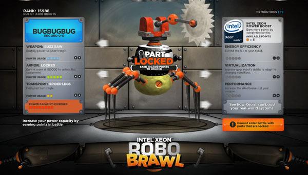自己组装机器人对战的robobrawl酷站