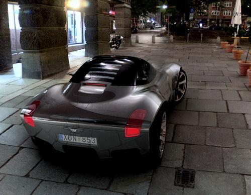 瑞典汽车设计公司Paulin 发布VR概念车(组图)