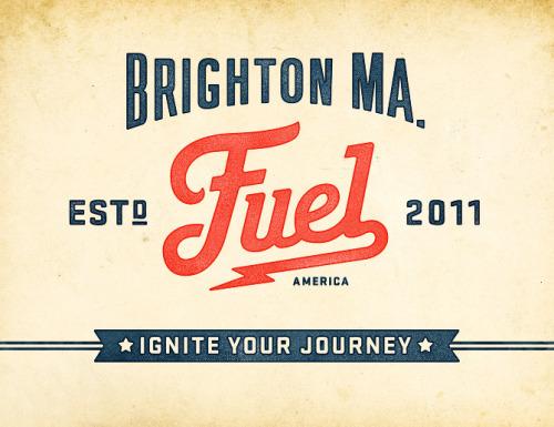 Fuel咖啡品牌视觉及店面设计
