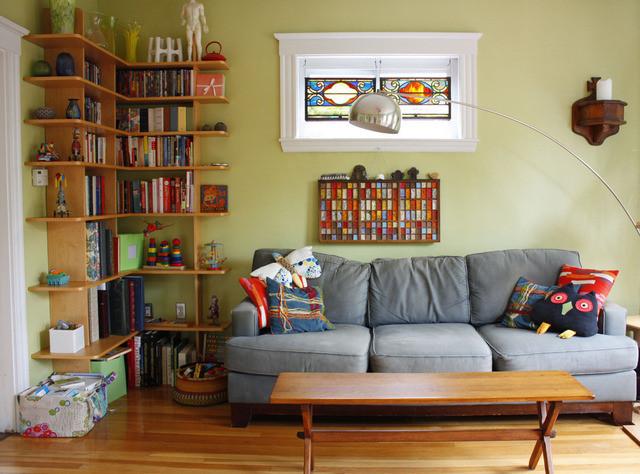 独特创意收纳 一家三口的温情公寓