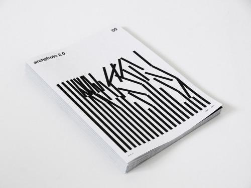 Archphoto 2.0 no.oo | 超设计感图册设计
