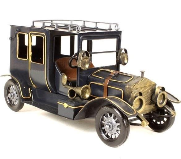 Handmade Antique Tin Model Car-1906 Rolls Royce Ghost | RL // Toys