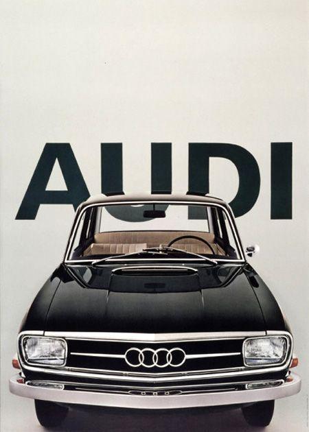 Vintage Audi Poster