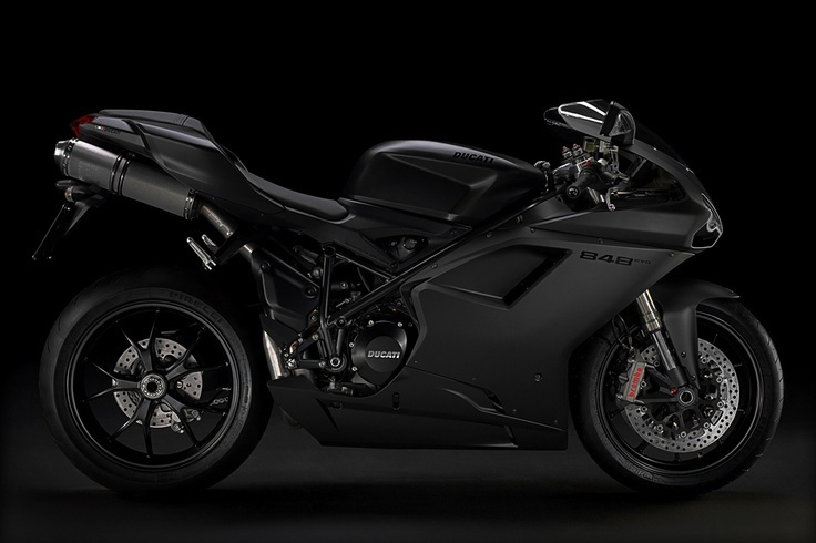 Ducati 848 Evo (Dark Stealth)