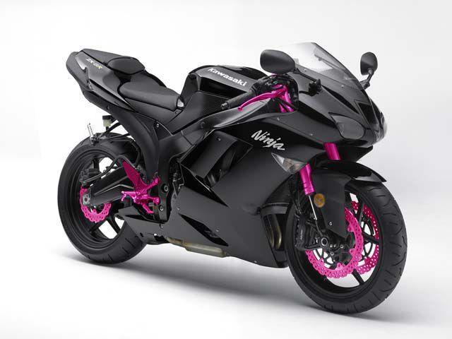 Kawasaki KZ6R black pink   Cars and Motorcycles I Like