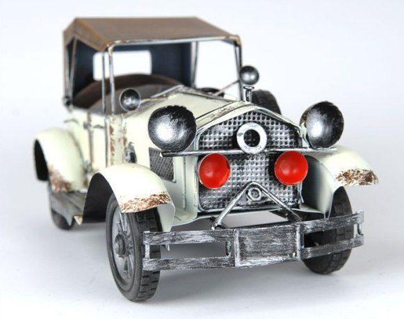 Handmade Antique Tin Model Car-Rolls Royce 1912