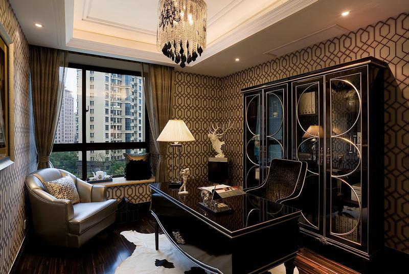 欧式古典 136平高贵三居室