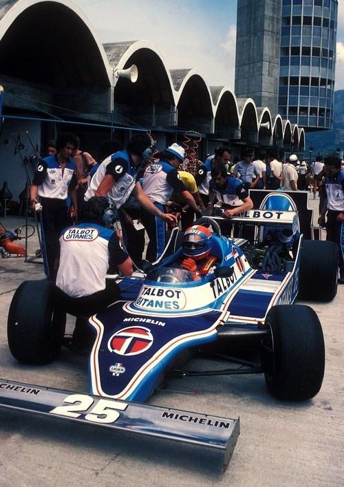 Jean - Pierre Jabouille Ligier - Matra 1981