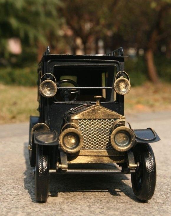 Handmade Antique Tin Model Car-1907 Rolls Royce