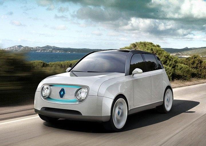 Presentamos al concept car Renault 4Lectric. El Renault 4