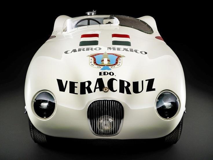Jaguar C Type Carrera Panamericana | 0 AUTOS CAR RACERS