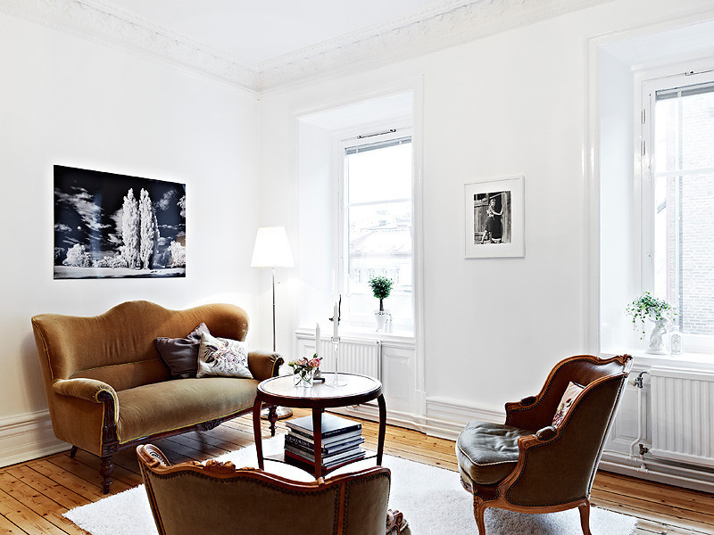 92平米的北欧混搭家庭公寓