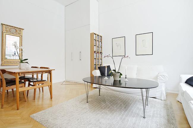 37平米的白木单身公寓