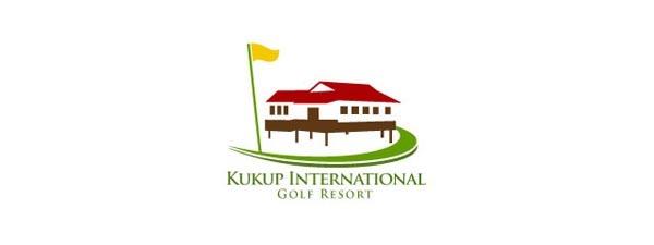 体育标志-30个高尔夫球场/网站logo设计欣赏