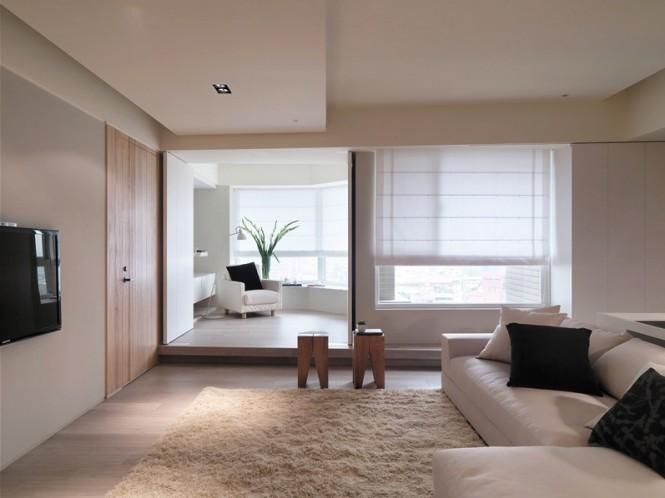 台湾中性配色现代公寓