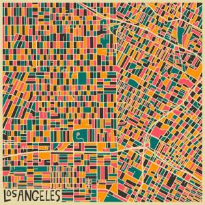Jazzberry 的几何城市地图欣赏