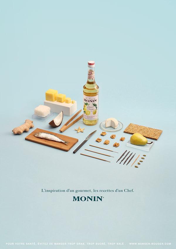 Les Sirops de Monin果露品牌形象设计