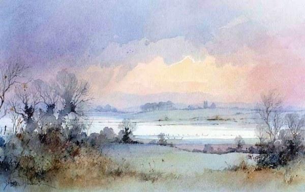 DavidHowell水彩风景画