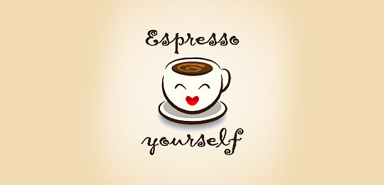 包含咖啡的创意logo设计