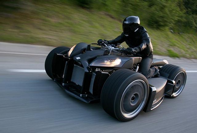 马特版概念摩托车