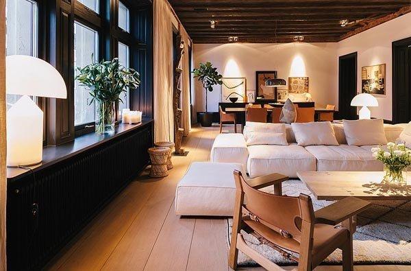 瑞典340平米北欧风情温馨复式顶楼公寓