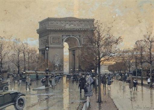 漫步在法国街头