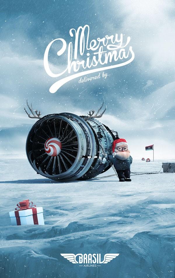顶级品牌的圣诞节平面广告欣赏