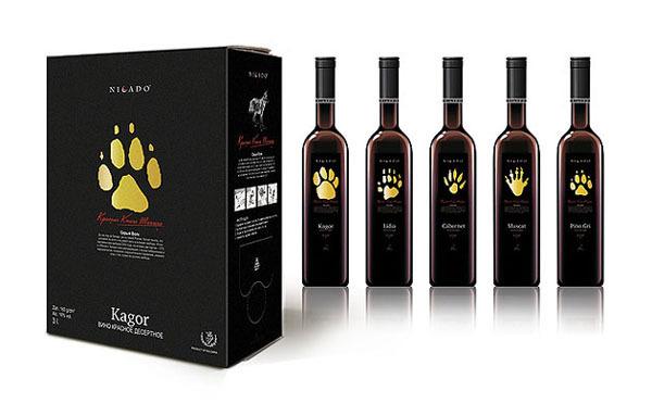 国外红酒包装设计欣赏