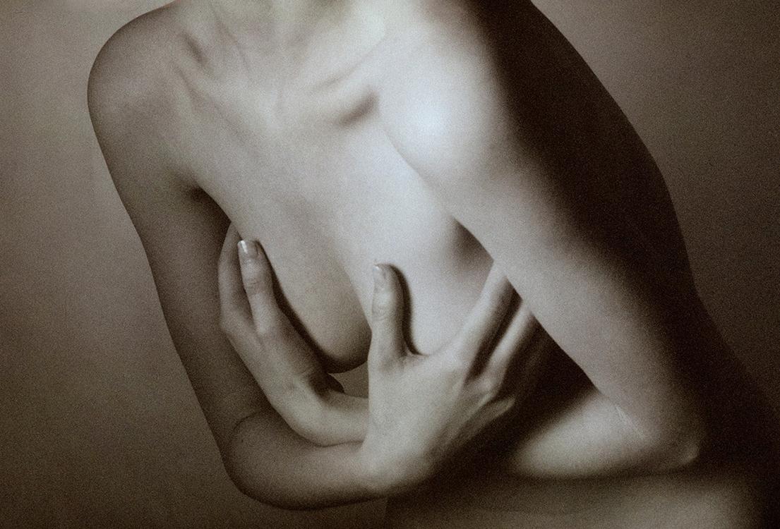 美而不媚的画意人体