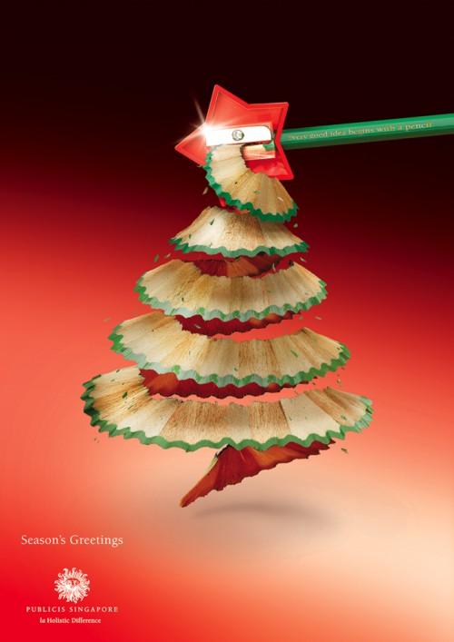 16个创意的圣诞节促销广告