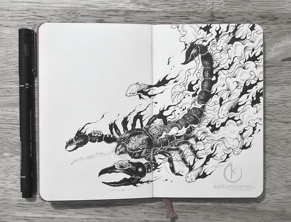 Kerby Rosanes 吊炸天的创意插画作品欣赏