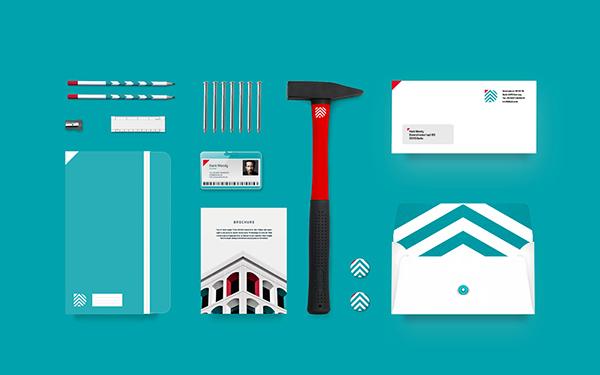 Diker Bau企业VI设计