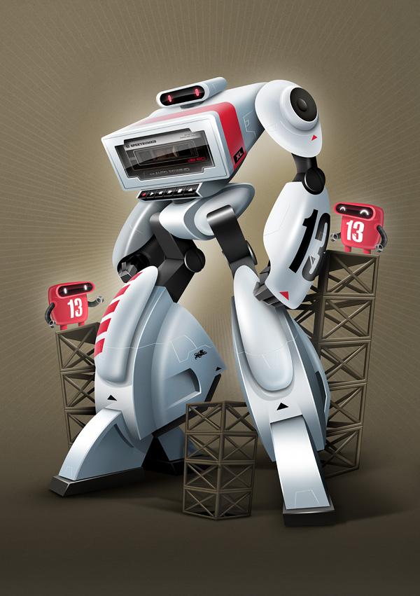 3D机械人设计(7P)