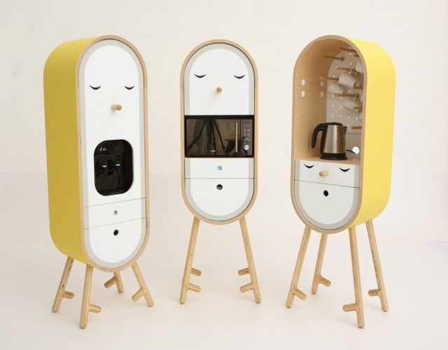O-LO任意组合的可爱微型厨房