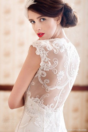 Charlotte Balbier 2014婚纱礼服系列
