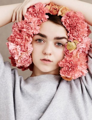 Ben Toms摄影作品:Maisie Williams