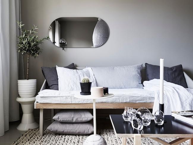 北欧25平米灰色舒适微公寓