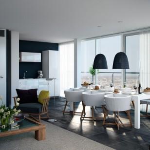 荷兰现代时尚公寓室内设计