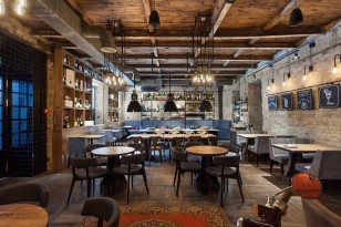 Bottega wine & tapas bar in Kiev
