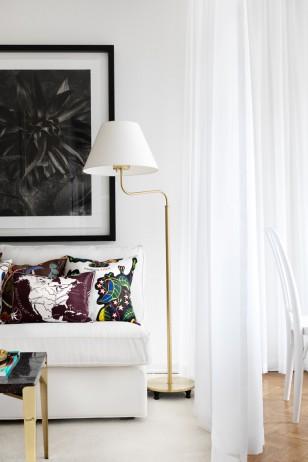 瑞典一个房型三种风格的样板房