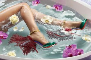 Christian Louboutin克里斯提·鲁布托高跟鞋2015春夏系列广告