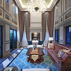 惠州中洲灣上花園歐式別墅室內設計