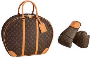 路易威登LV包包价格 老佛爷设计的LV拳击沙包打得起吗?