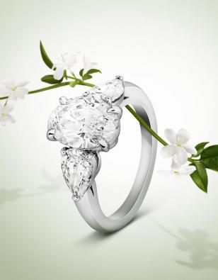 Van Cleef&Arpels梵克雅宝2015婚嫁系列新款戒指图片